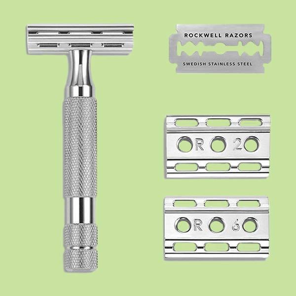 Rockwell 6C Double Edge Safety Razor