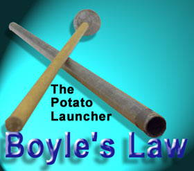 The Potato Launcher Boyle's Law