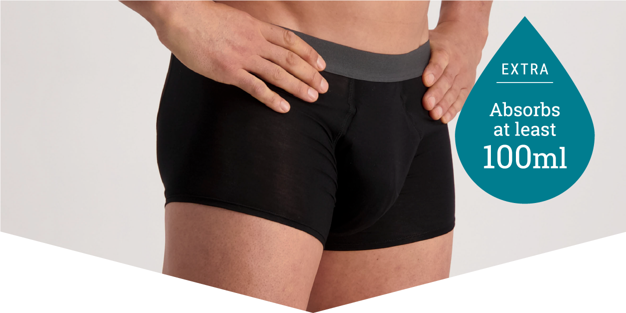 Shop Male Incontinence Underwear - Ordinary Underwear, Extraorinary Protection - Confitex for Men