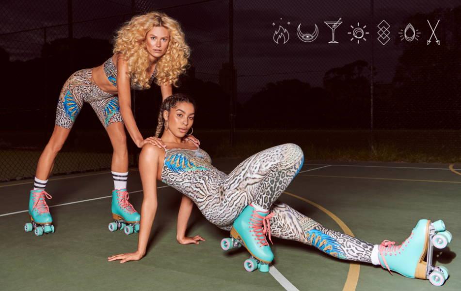 CAMILLA activewear, camilla animal print activewear