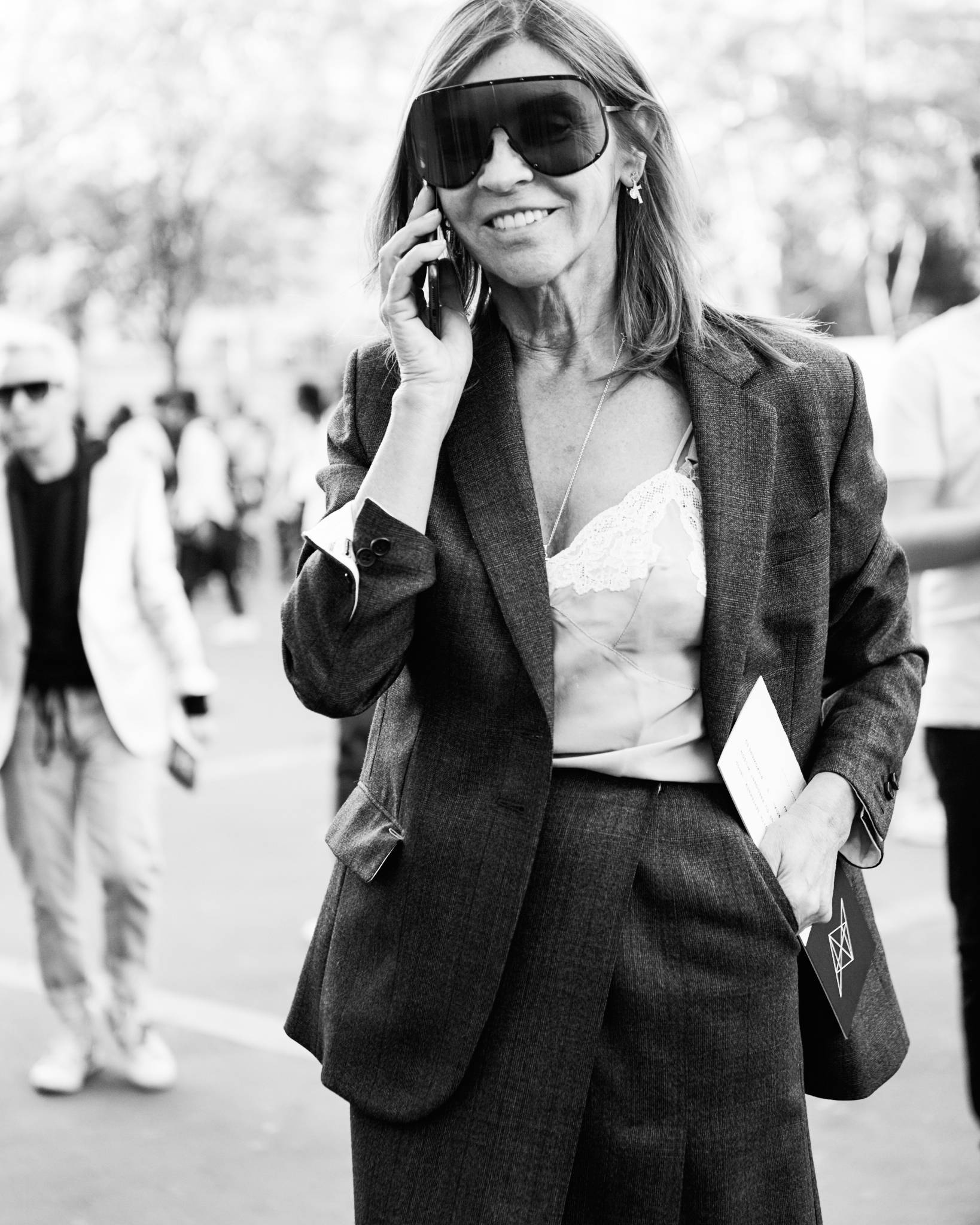 Street Style Paris Fashion Week SS19 Carine Roitfeld