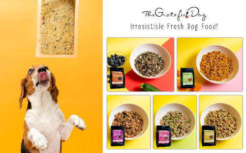 The Grateful Dog fresh dog food collection