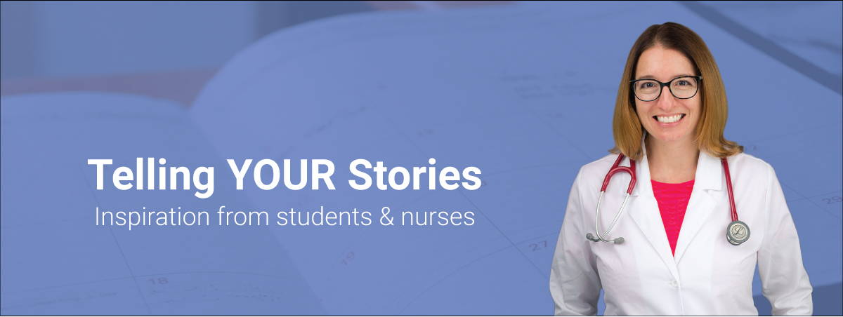 LevelUpRN Telling YOUR Stories Banner