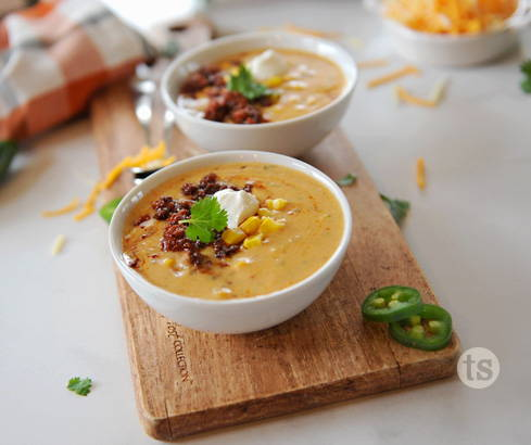 Mexican Chorizo Chowder