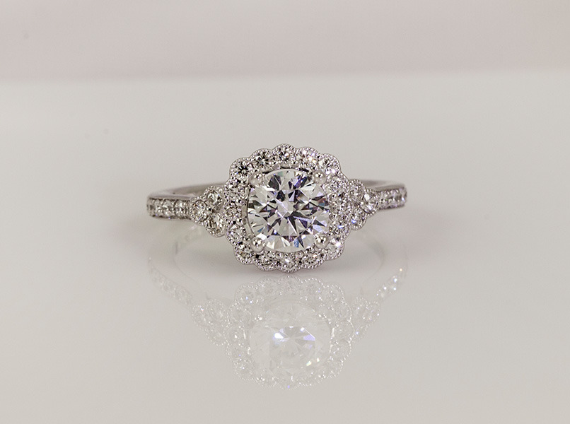 4e7d3dc90a9fd Custom Engagement Ring Design | Henne Jewelers Pittsburgh