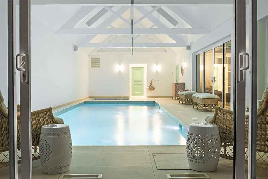 Interior Heating Swimming Pool Build   Deep End Pools