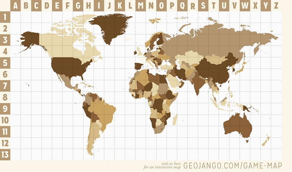 geojango explorer cards interactive map