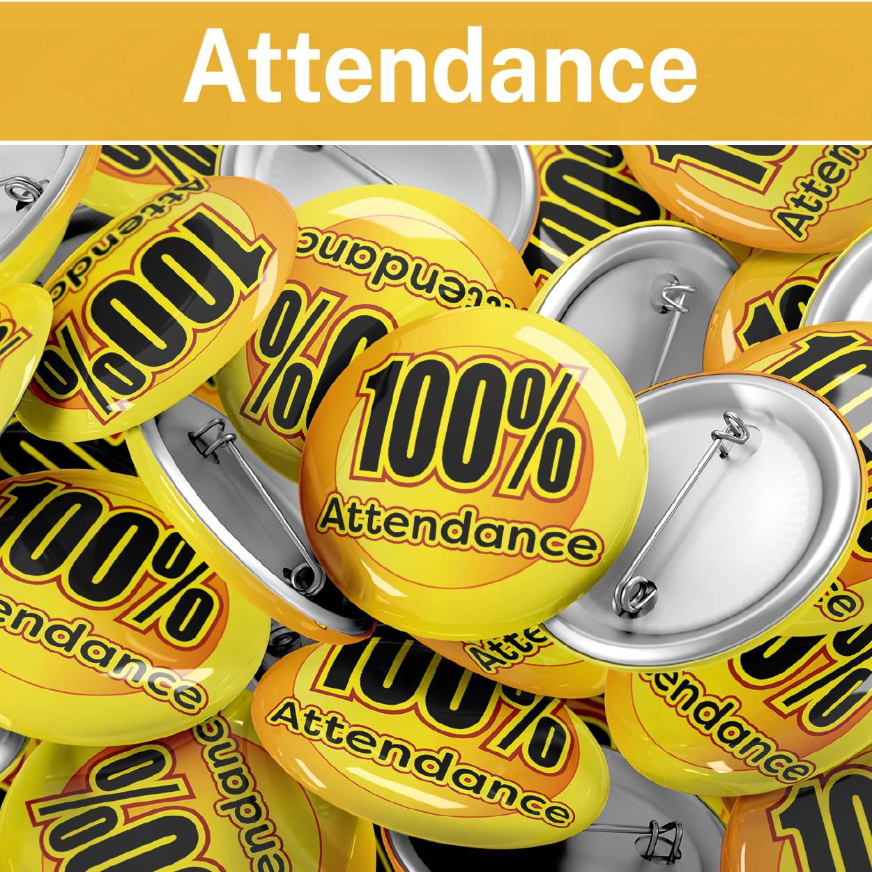 Attendance Reward Badges