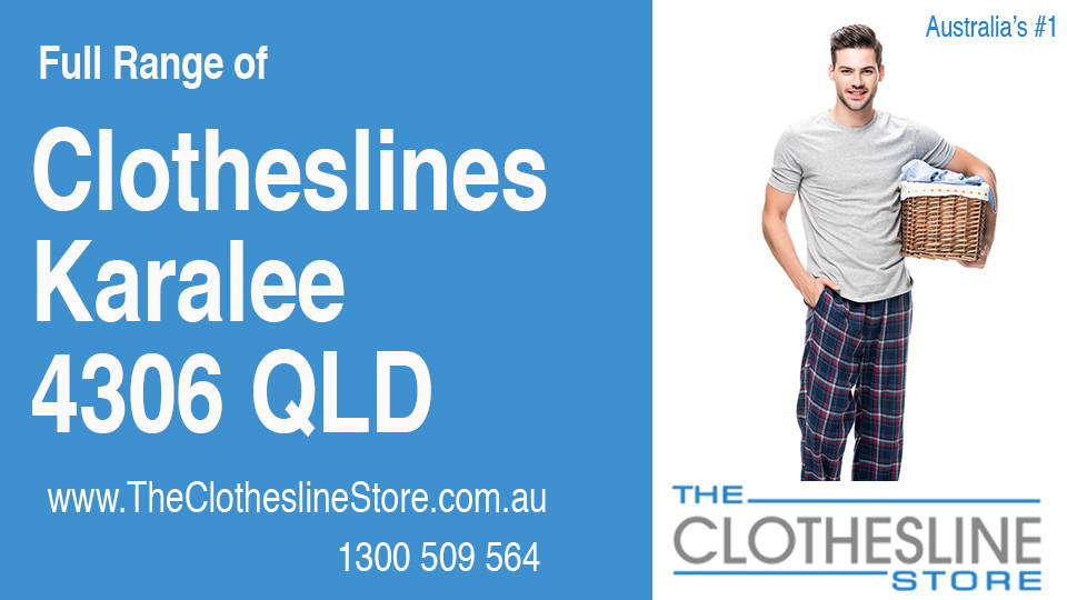 New Clotheslines in Karalee Queensland 4306