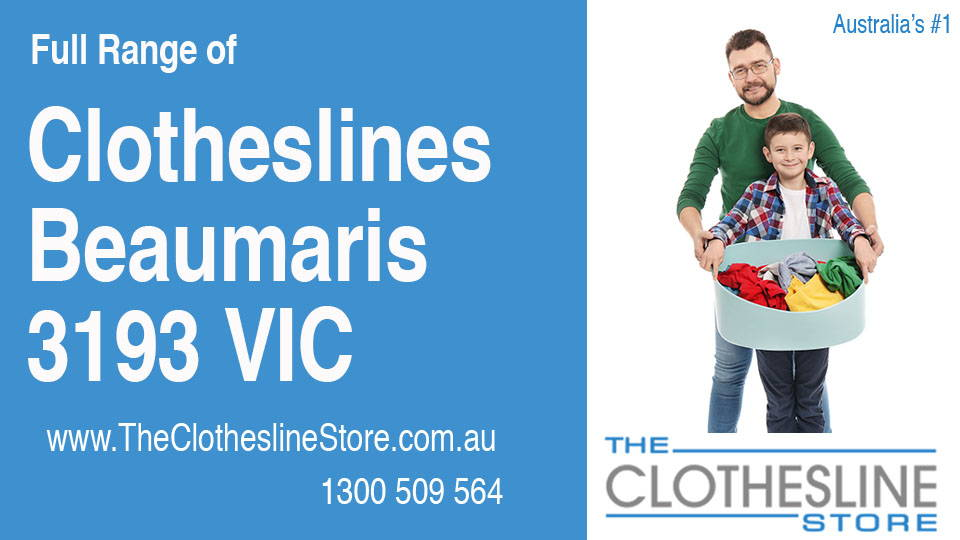 New Clotheslines in Beaumaris Victoria 3193