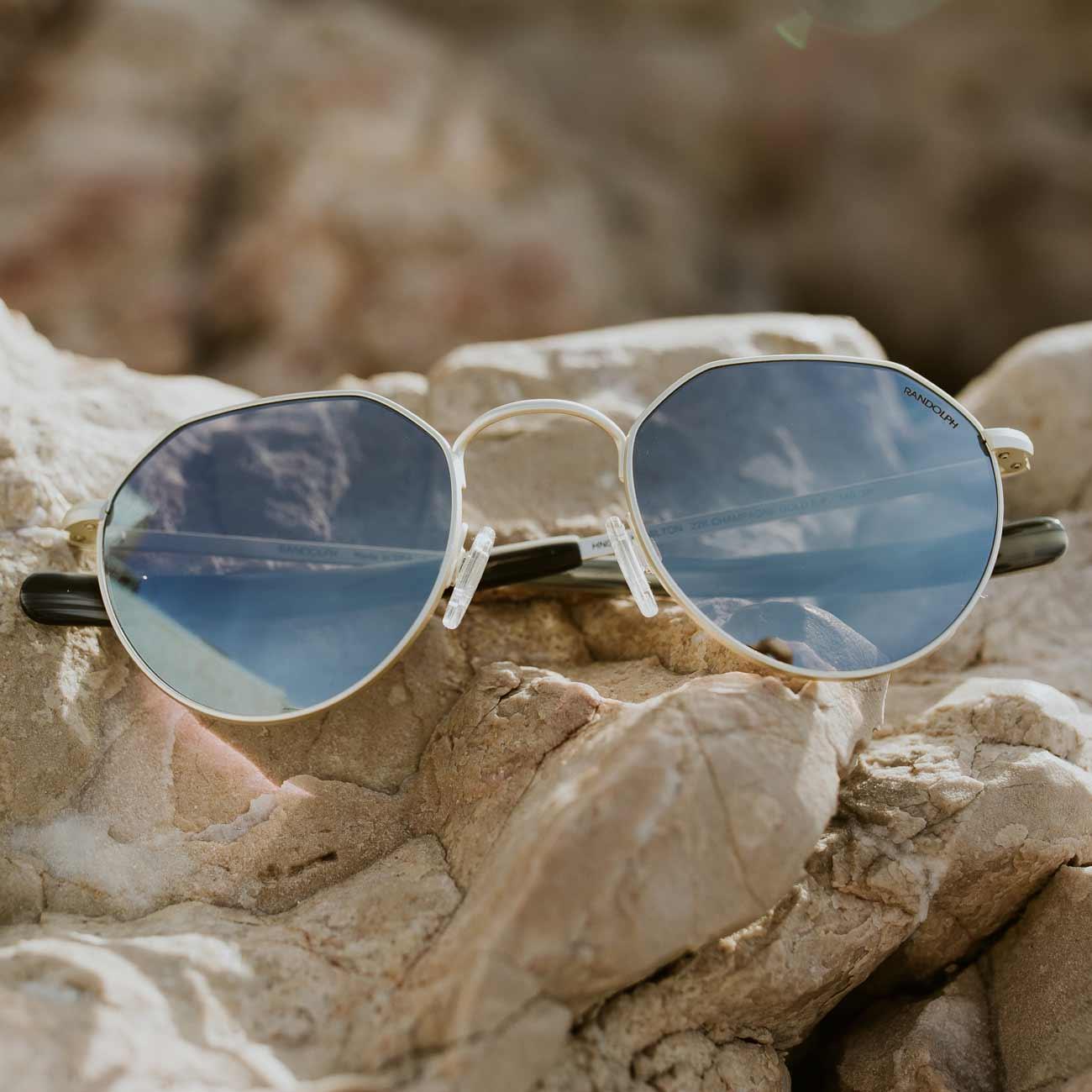 Mirrored Sunglasses for Men & Women - featured style: Hamilton