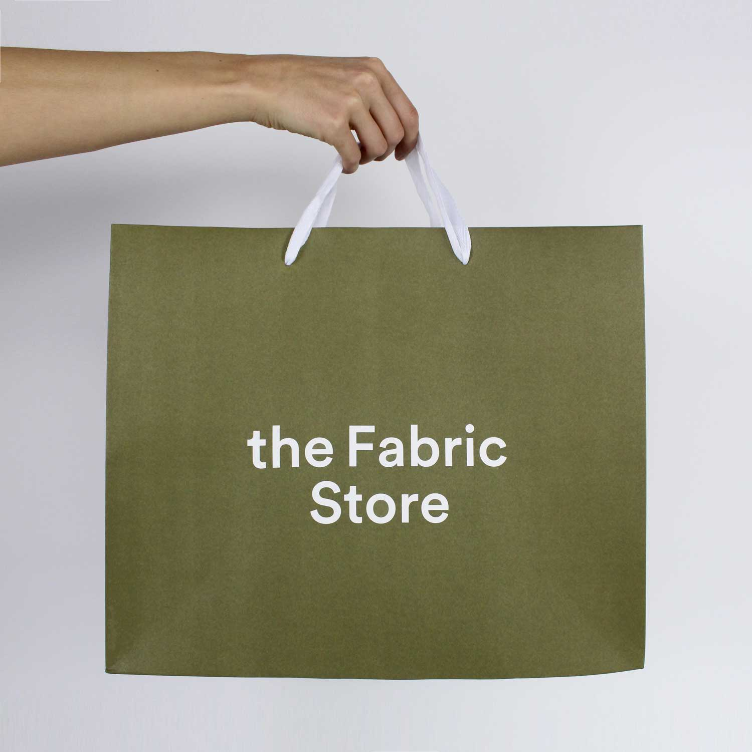 Shopping Bag- The Fabric Store Online