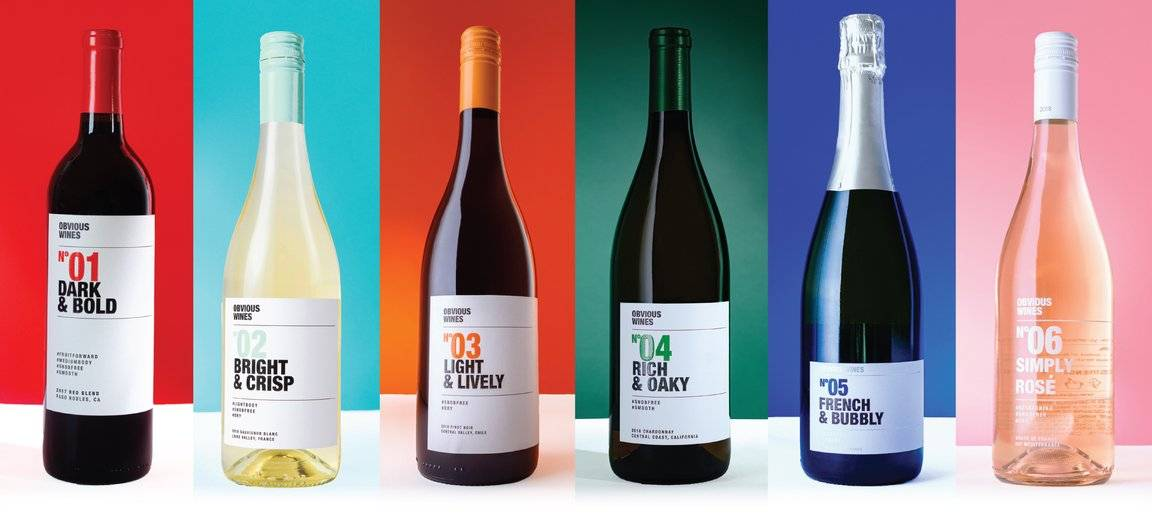 Obvious Wines Collection Chardonnay French and Californian wine available on myPanier