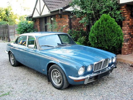 1978 Jaguar XJ6 Sound Deadening