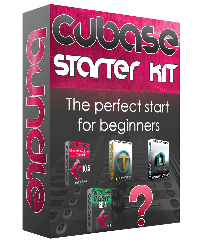 Cubase Tutorial Beginners Bundle