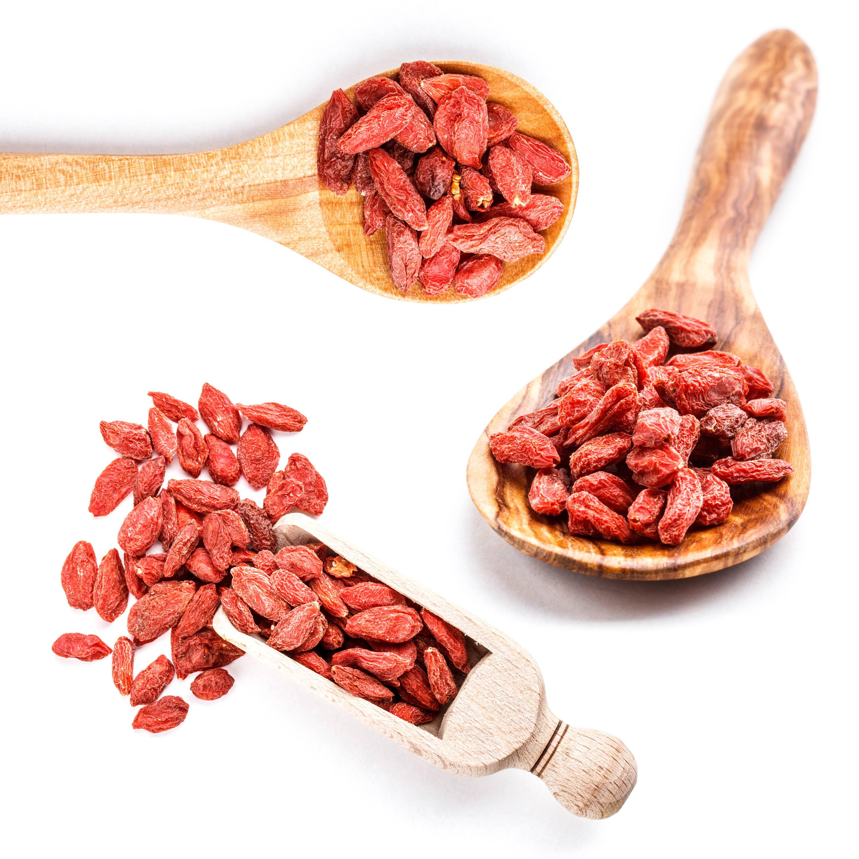 Goji Berries that contain Vitamin A