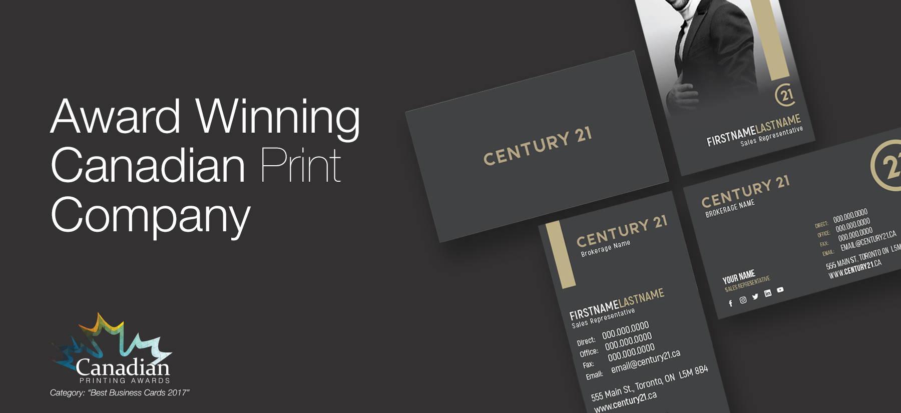 Century 21 business cards reheart Choice Image