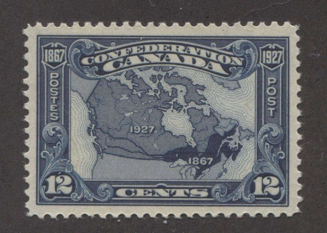 The 12c map stamp from the 1927 Confederation issue of Canada