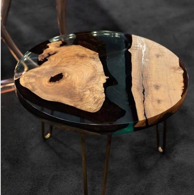 The Osso 80 Side Table Exhibited at ICFF Florida