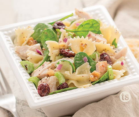 turkey cherry pasta salad