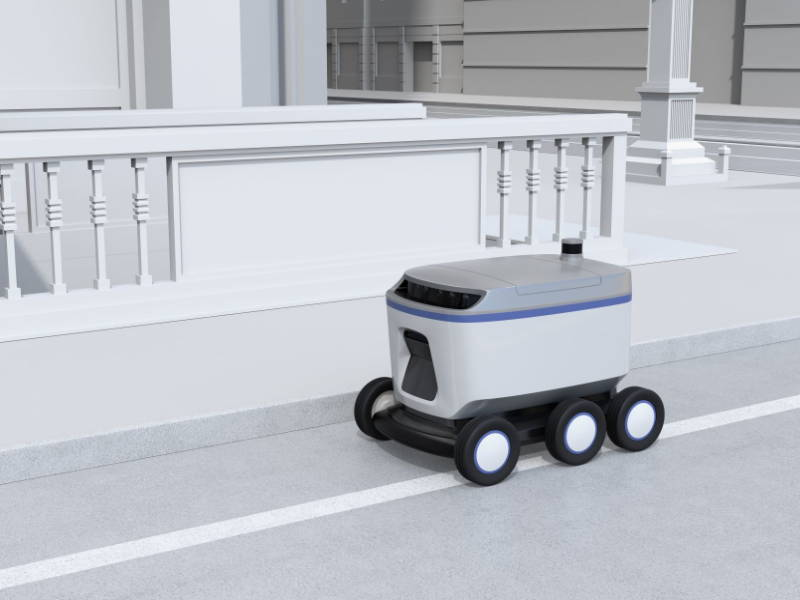 Delivery robot applications of MYNT EYE depth cameras