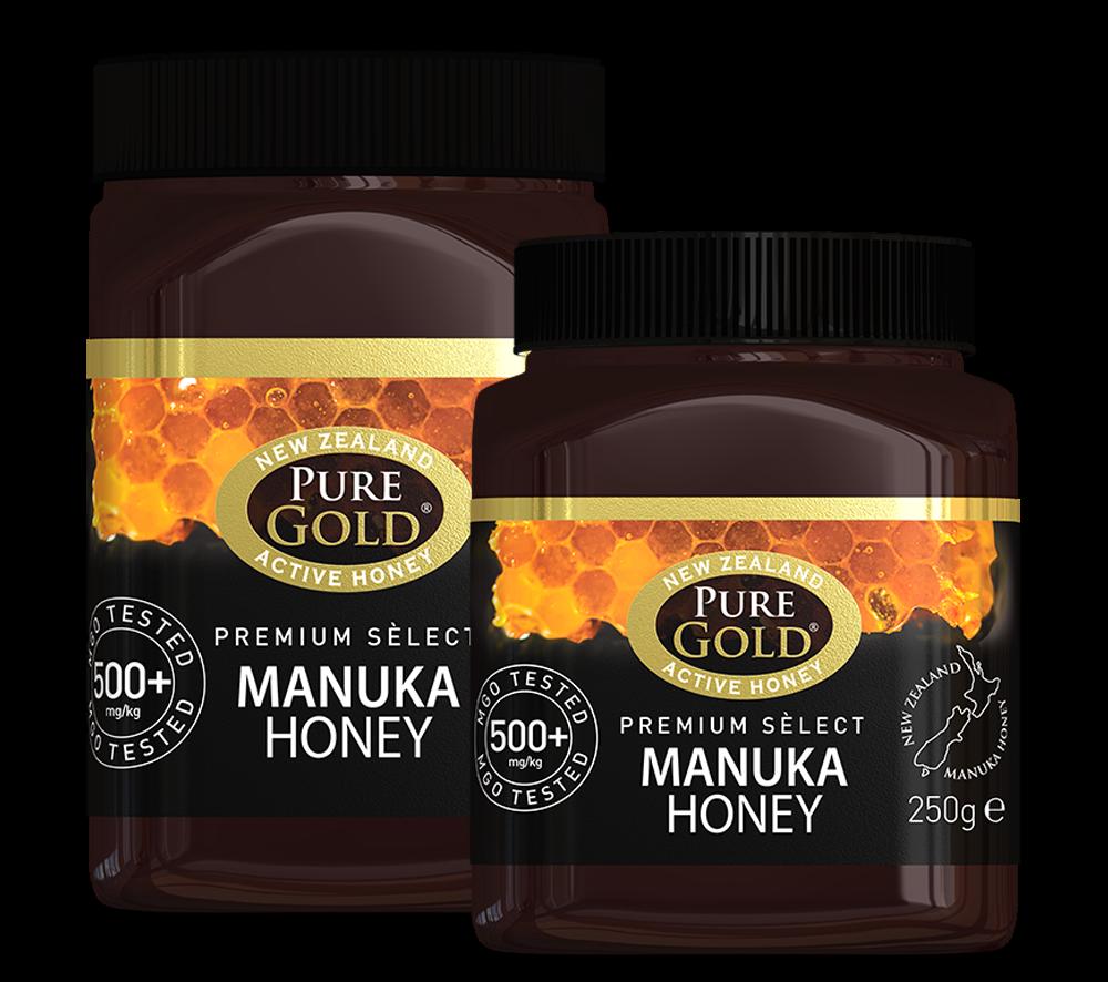 Pure Gold Manuka Honey 500+