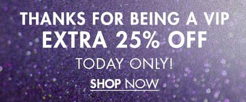 Holiday Treat Extra 25% Off