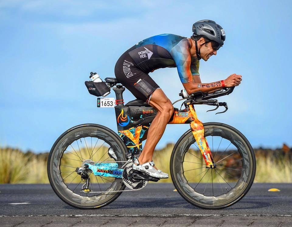 Eduardo Della Maggoira bike leg Kona Ironman