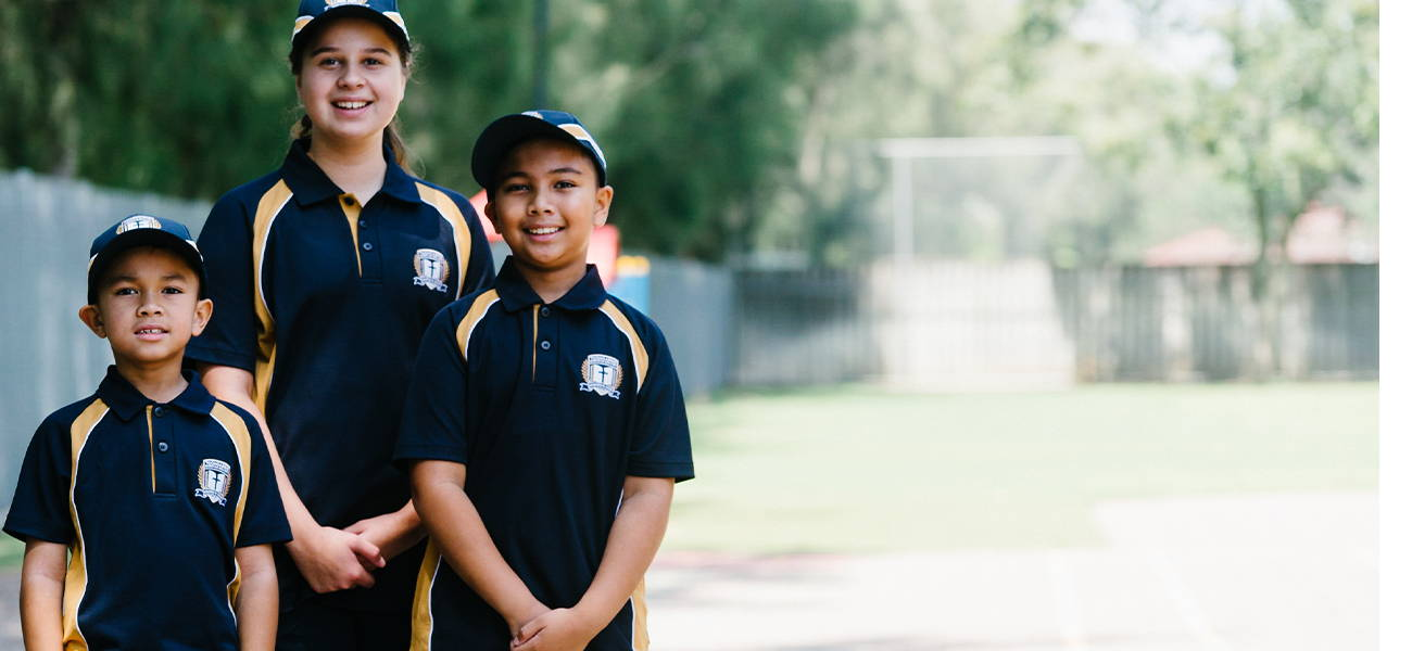 Custom sports polo and sports shorts by Valour Sport for Toongabbie Christian College