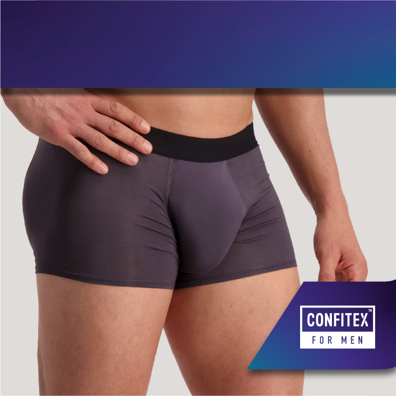 Shop male bladder leakage underwear - Confitex for Men