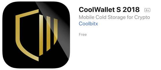 CoolBitX - ORBIS Secure Wallet App for Apple