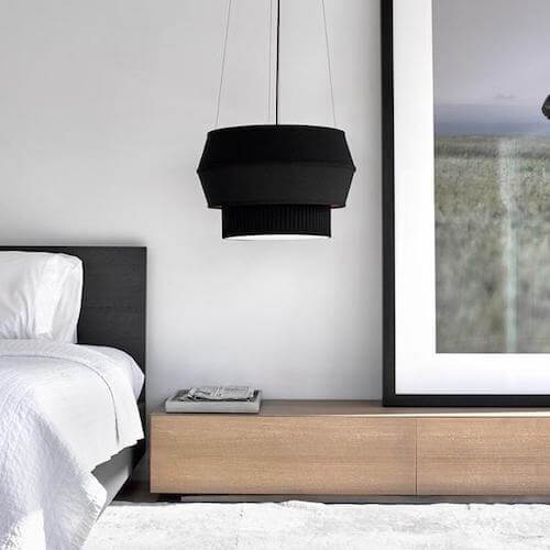 Modern Ceiling Lights - Drum Pendants