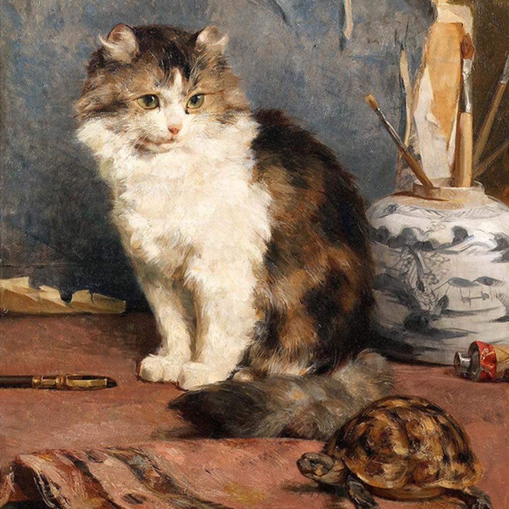 Charles Van den Eycken Art