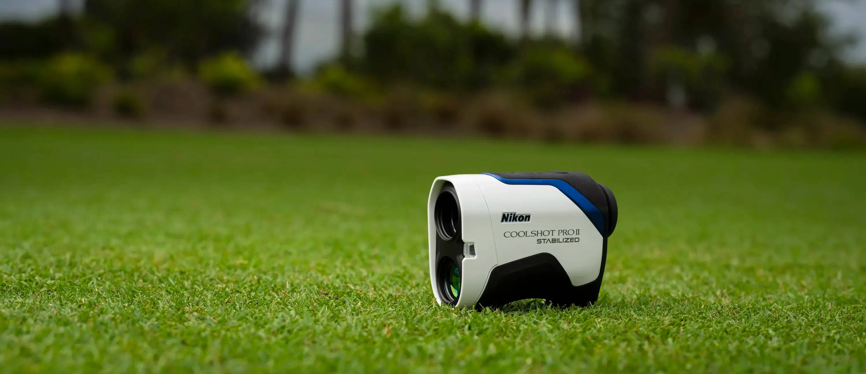 The Nikon COOLSHOT PROII Stabilized Rangefinder on the Golf Course
