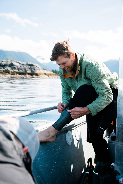 Sitka Alaska - Men's Green Quilted Pullover