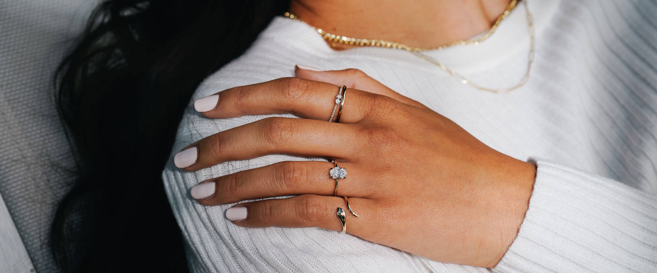 VOW by Ring Concierge engagement ring and Ring Concierge fine jewelry
