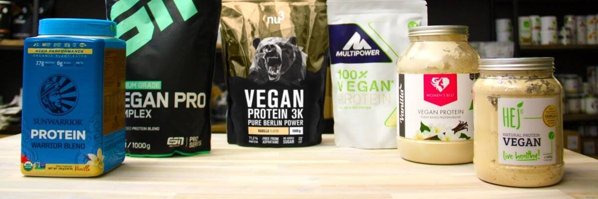 Comparatif de protéines vegan