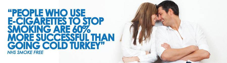 El uso de cigarrillos electrónicos mejora sus posibilidades de dejar de fumar en un 60% en comparación con irse de golpe