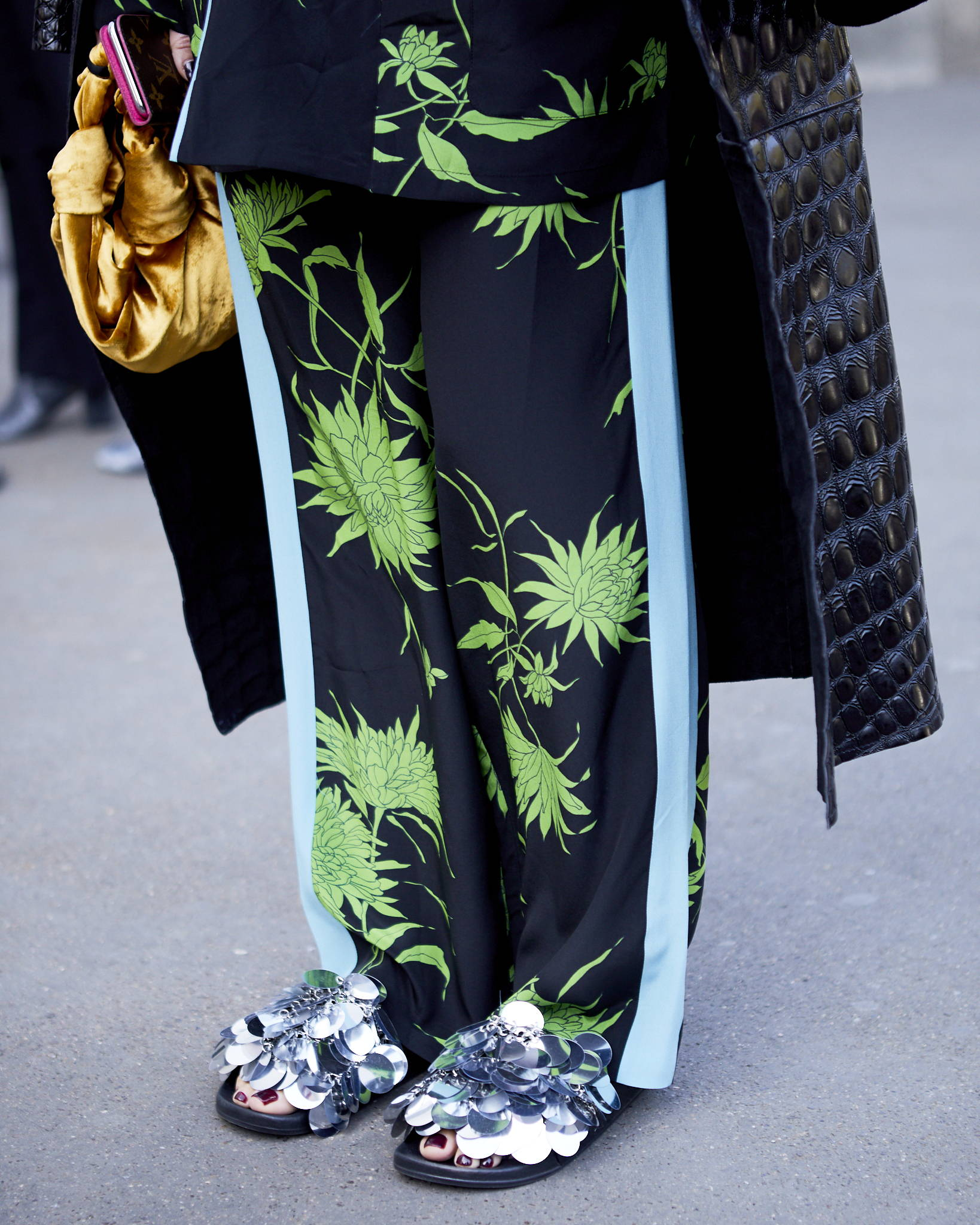 Street Style Paris Fashion Week SS19 Haider Ackermann