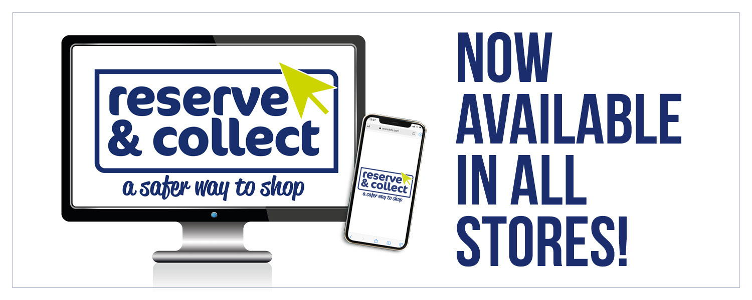 About Reserve & Collect - Now Available in All Stores