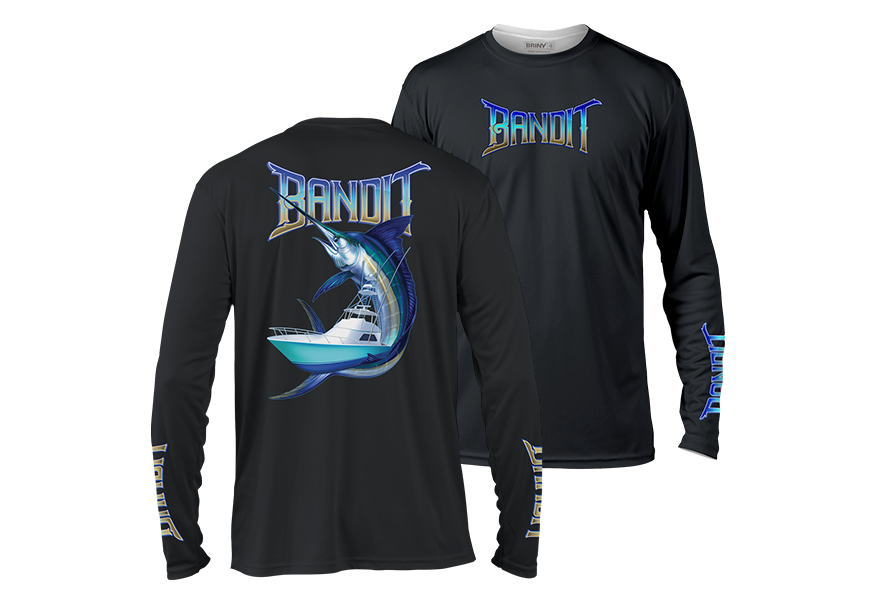 custom performance fishing shirts by briny