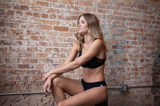 In Vogue Shoot for Wama Underwear