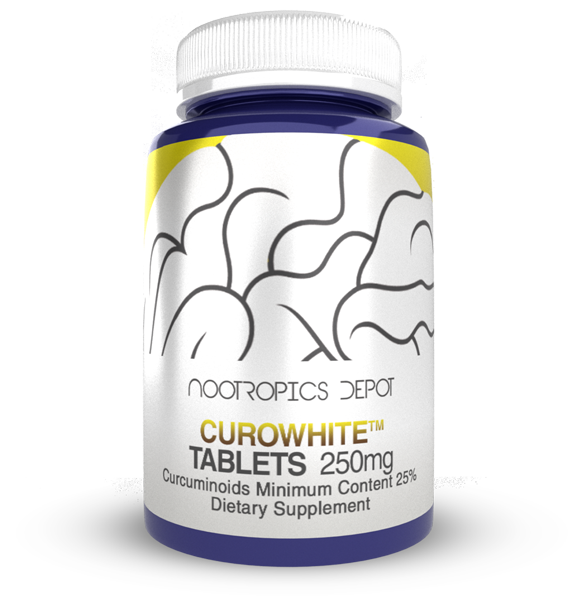 Buy CuroWhite Curcumin Extract Tablets from Nootropics Depot