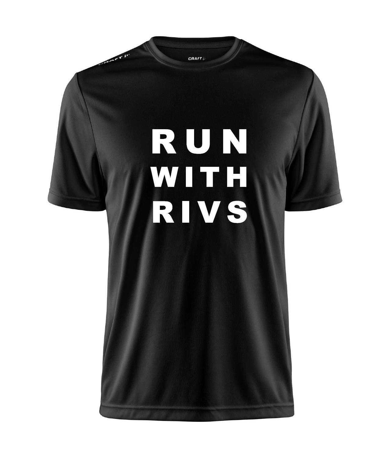 Run with Rivs Benefit Tshirt