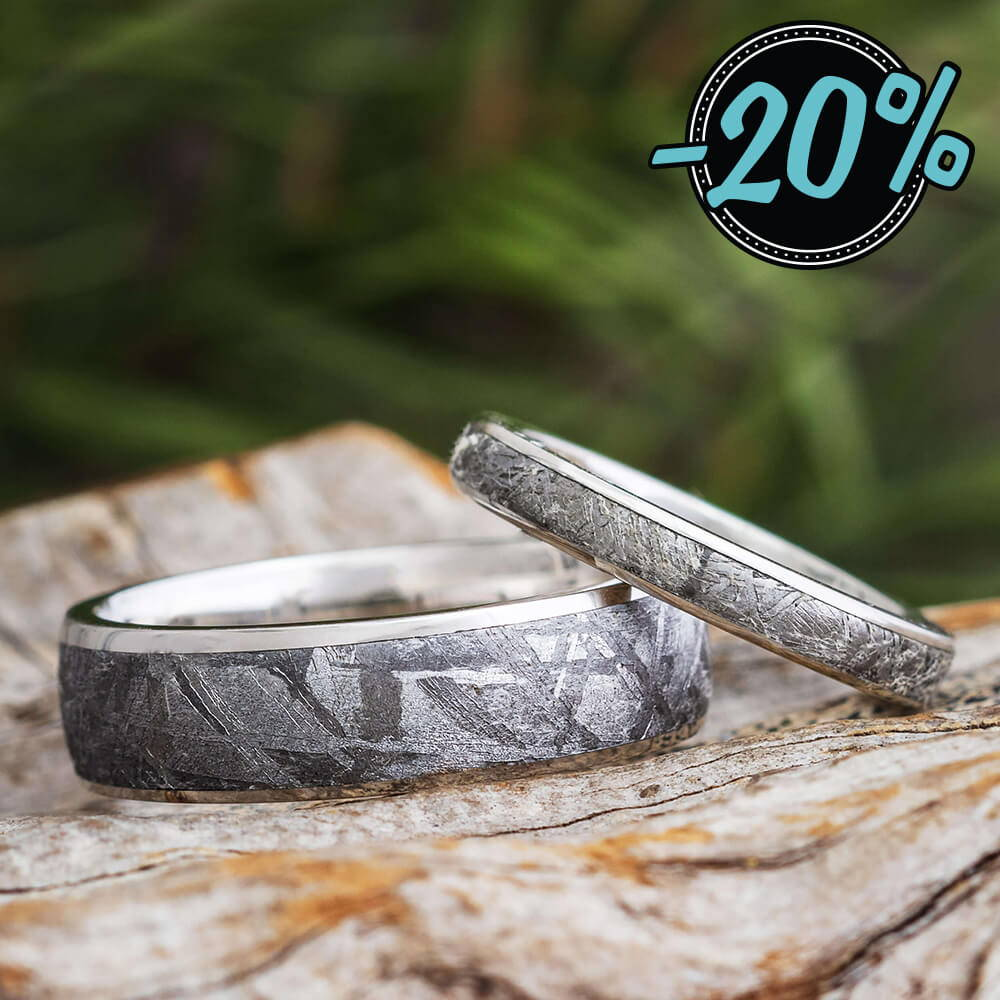 Meteorite Ring Sets