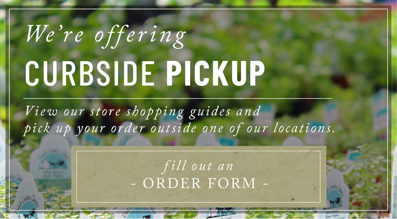 Select A Store for Curbside Pickup