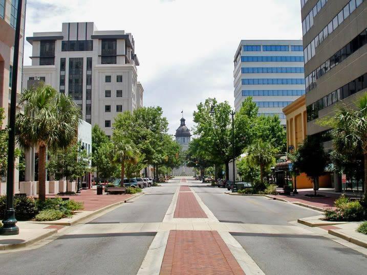 Main Street in Columbia, South Carolina