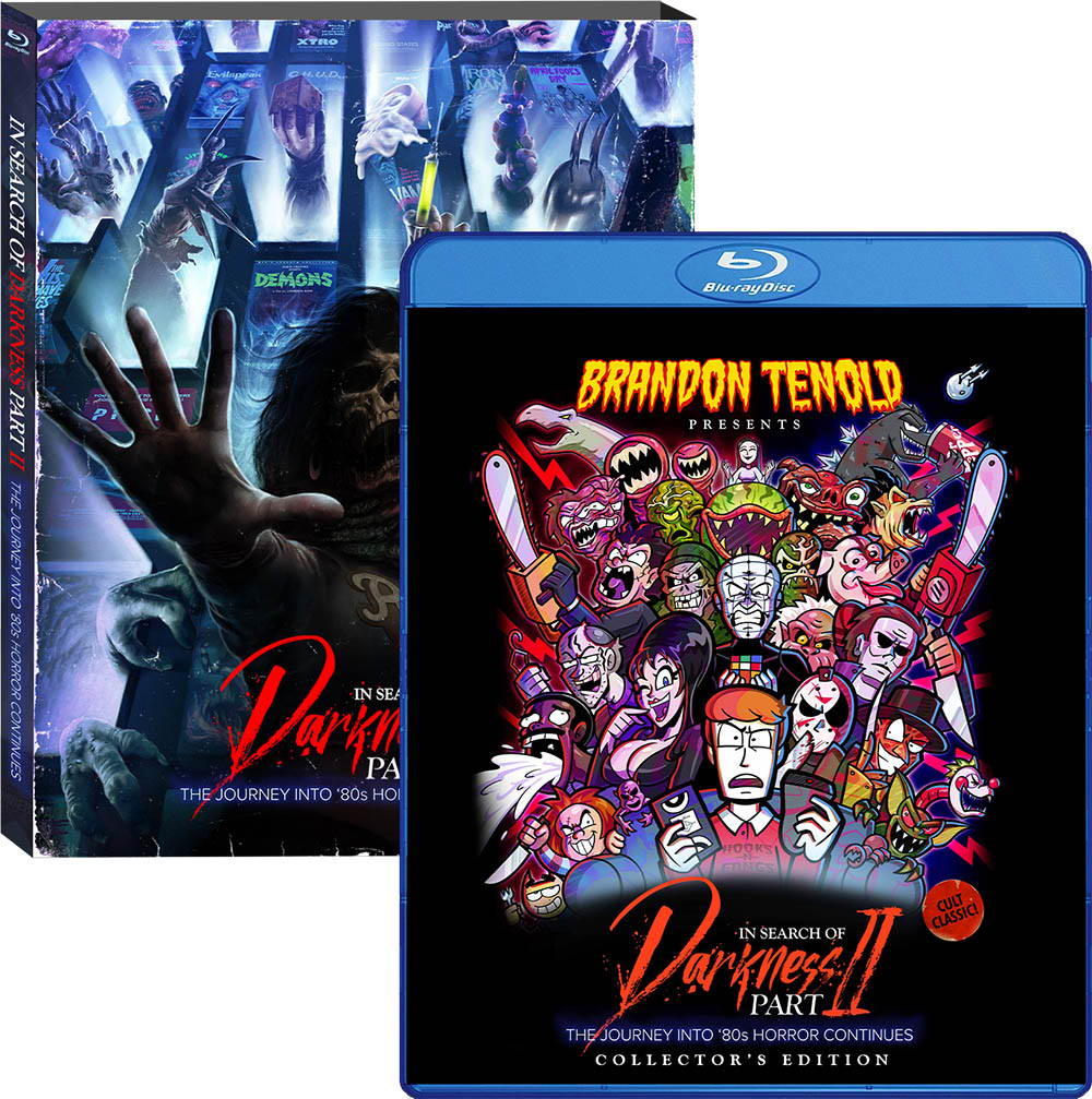 In Search of Darkness: Part II, Brandon Tenold Blu-ray/DVD Cover