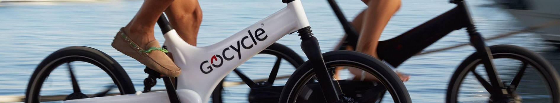 GoCycle electric folding bike. Available at Mike's Bikes.