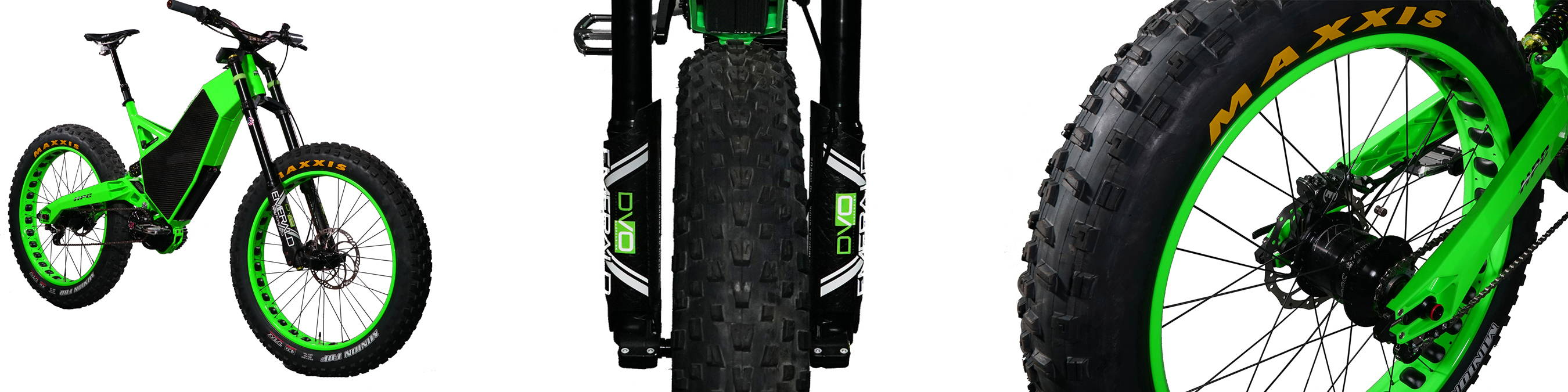 2b902bf5283 ... and most importantly the custom fabricated DVO Emerald fat fork and  rear shock, work together to make this the most INSANE bike experience ever!